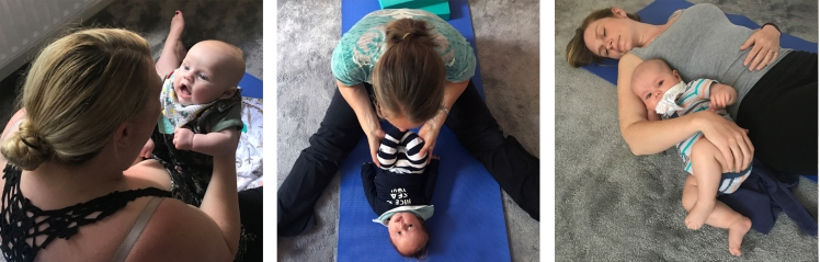 Baby and mum yoga whiteley fareham locks heath