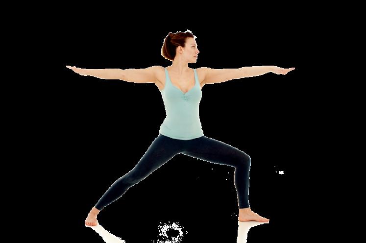 Yoga2shape yoga pose, Warrior 2, or Virabadhrasana 2