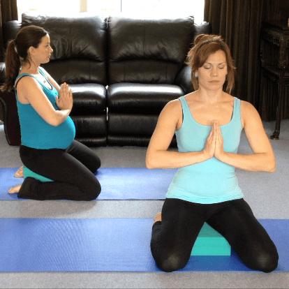 Pregnancy yoga video, prenatal yoga, birth preparation, breathing for labour