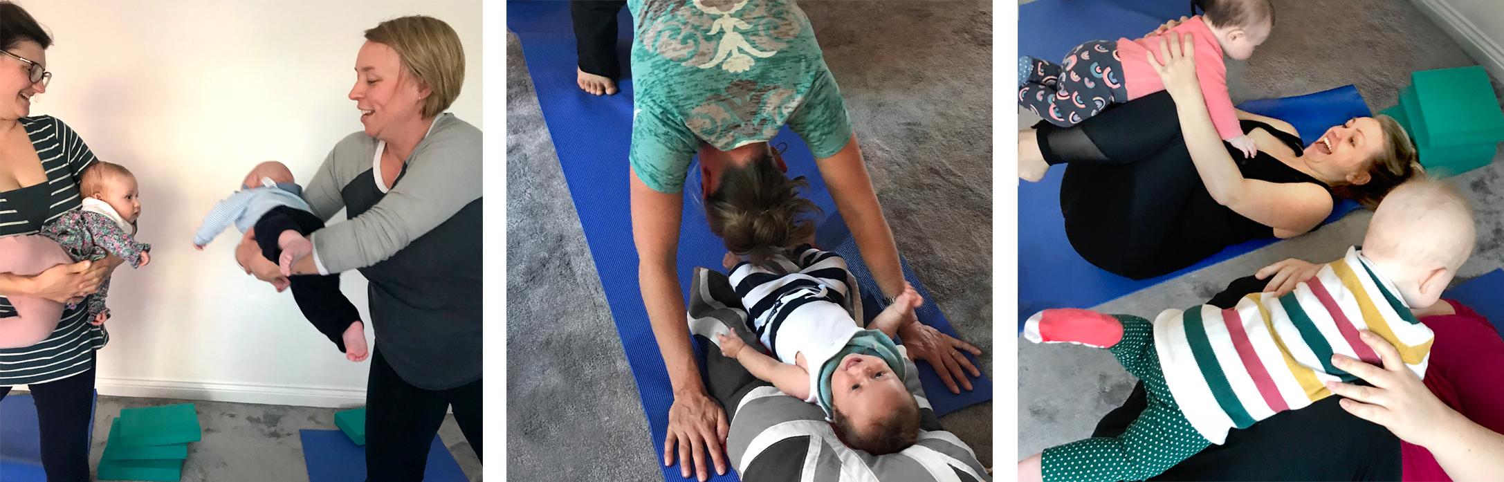 Postnatal Yoga whiteley locks heath park gate fareham mum and baby yoga pilates