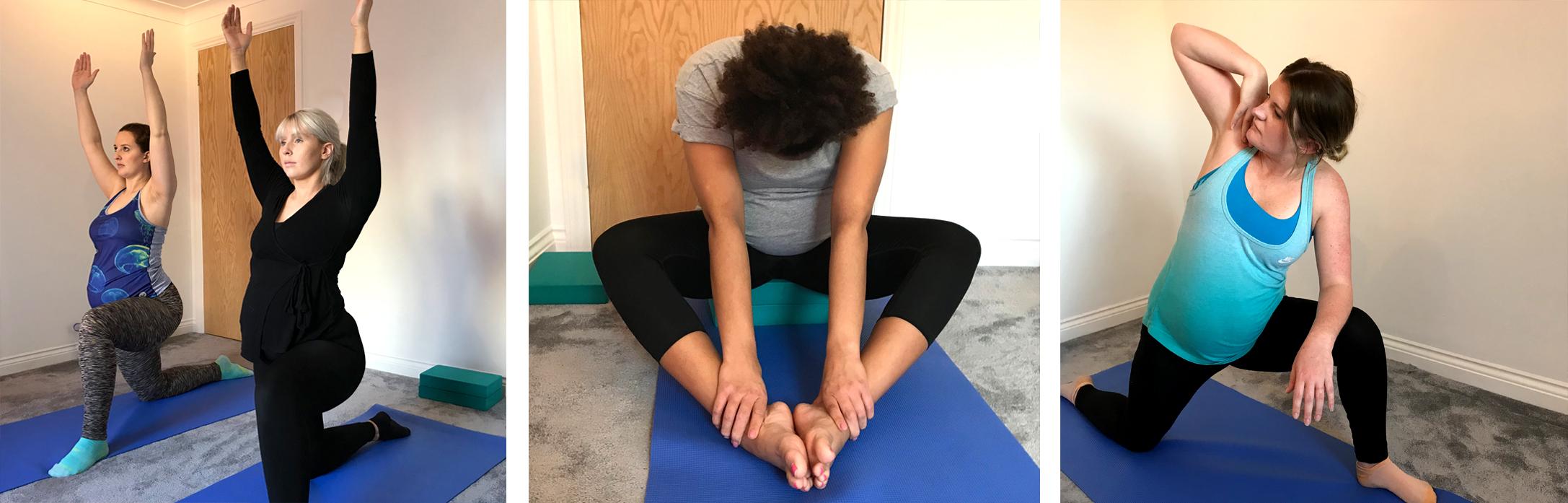 Pregnancy Yoga and Prenatal Yoga, Antenatal Yoga, Birth Preparation in Locks Heath, near Park Gate, Whiteley, Fareham, Southampton, Portsmouth, Hampshire,