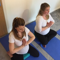 Pregnancy Yoga Fareham and Whiteley Hampshire