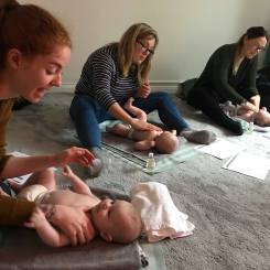 Mama2shape Baby Massage in Whiteley