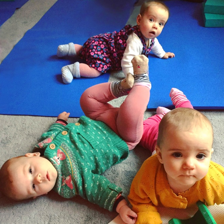 Mama2shape Baby Yoga in Whiteley