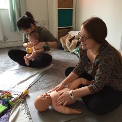 Infant Massage Fareham
