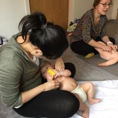 Mama2shape Baby Massage in Park Gate and Fareham, Hampshire